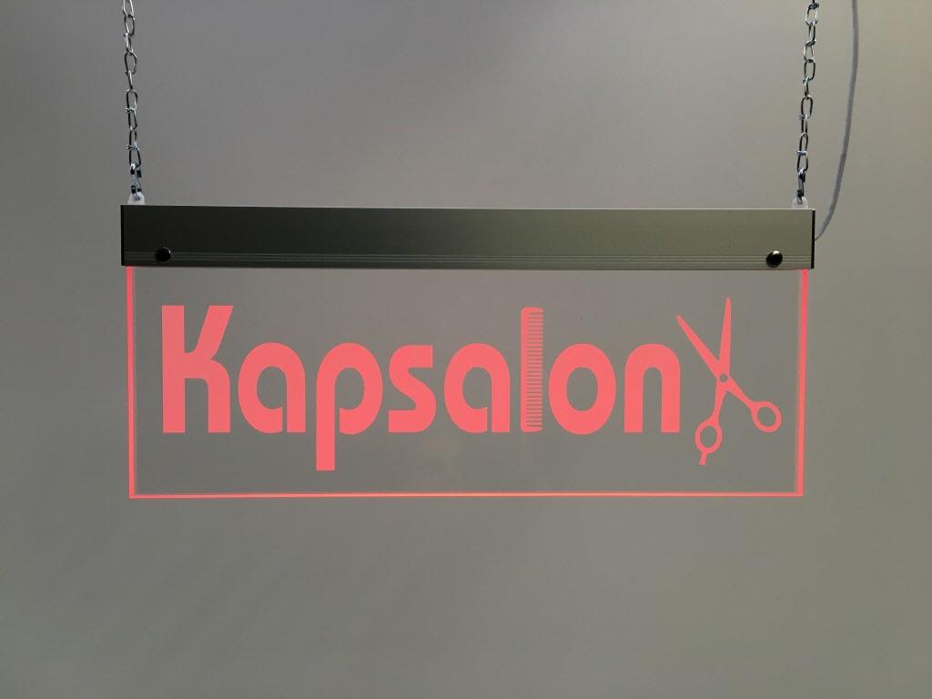 Kapsalon - perspex LED bord | LEDB4515KAPS